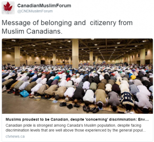 CMF Muslim the proudest Canadians